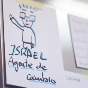 Israel Alcázar. Agente de Cambio