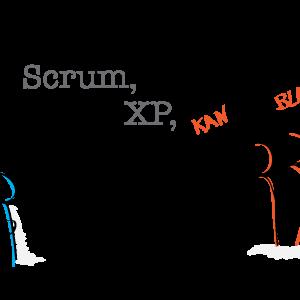 Scrum, XP, Kanblah