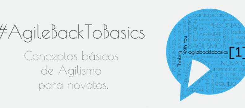 #AgileBackToBasics [1]