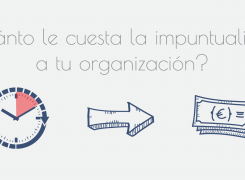¿Cuánto le cuesta la impuntualidad a tu organización?